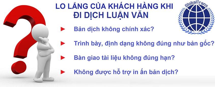 Dịch luận văn, luận án tại Hà Nội