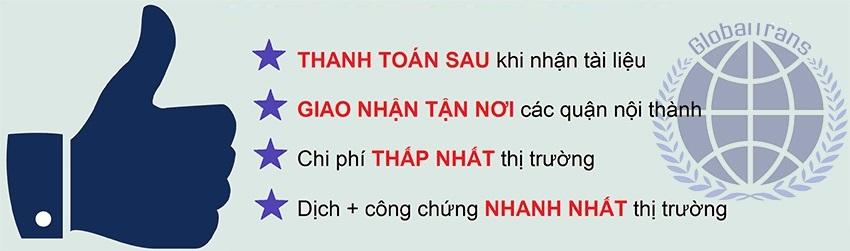 dịch thuật công chứng sao y bản chính chứng thực bản sao dịch công chứng tư pháp nhà nước lấy nhanh giá rẻ tại Hà Nội