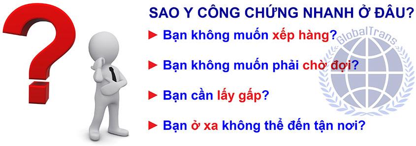Sao y công chứng nhanh tại Hà Nội