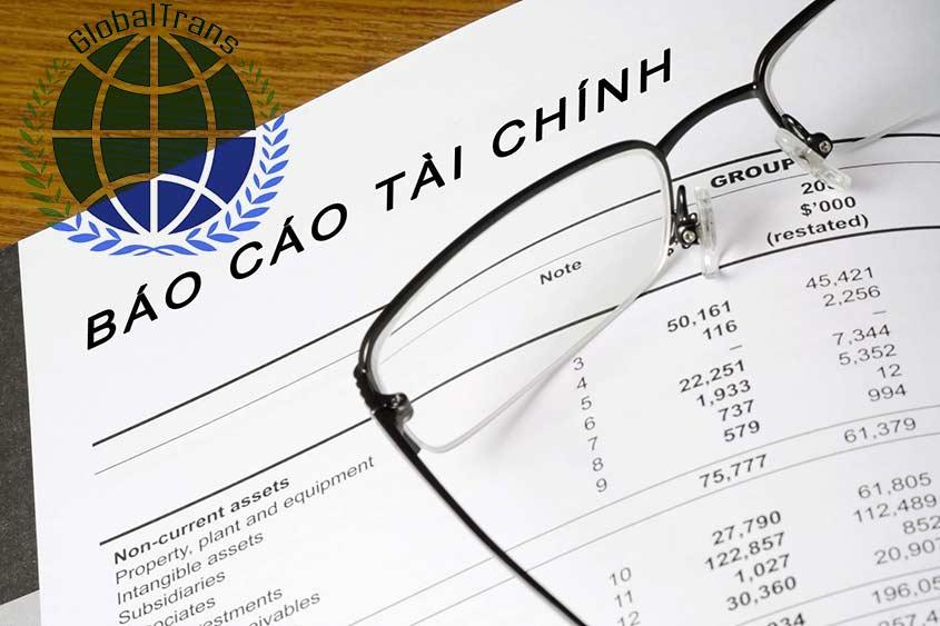 dịch thuật công chứng báo cáo tài chính tờ khai thuế